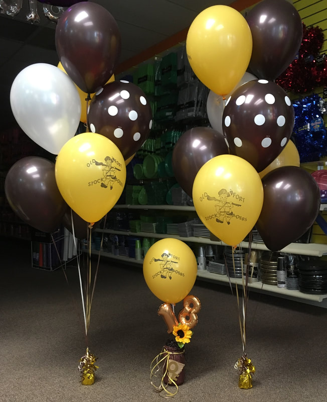 Candy Bouquets, Centerpieces, Balloon Bouquets, Garland